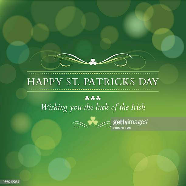 St. Patricks Day message