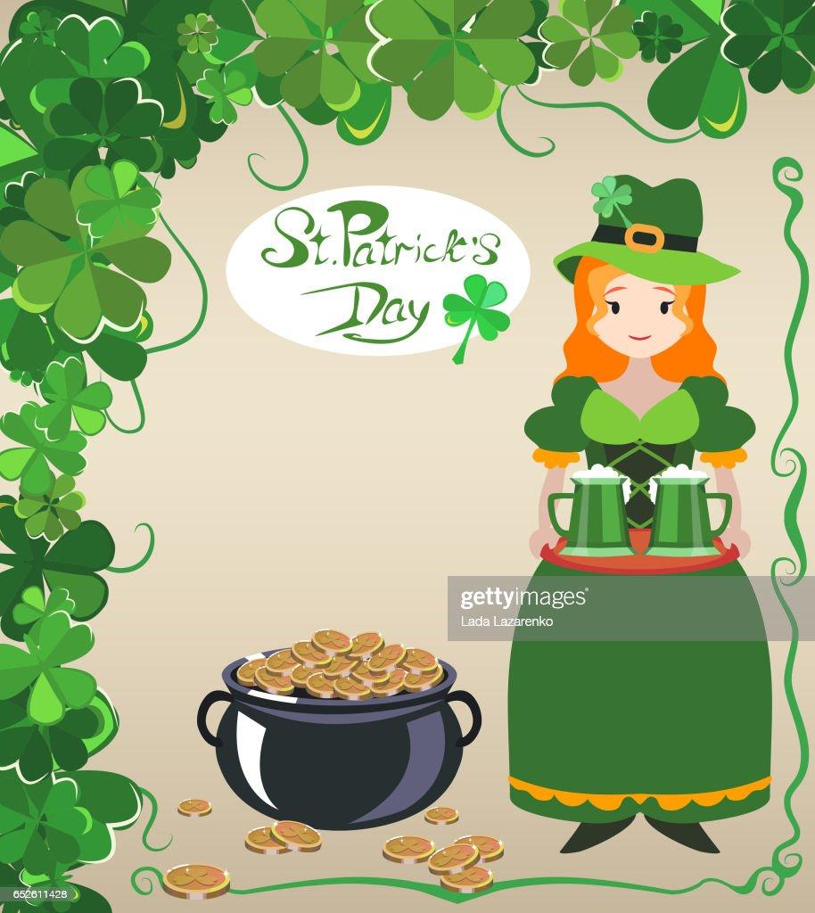 St. Patrick's Day poster design