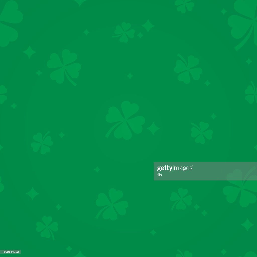 St. Patrick's Day Shamrock Background