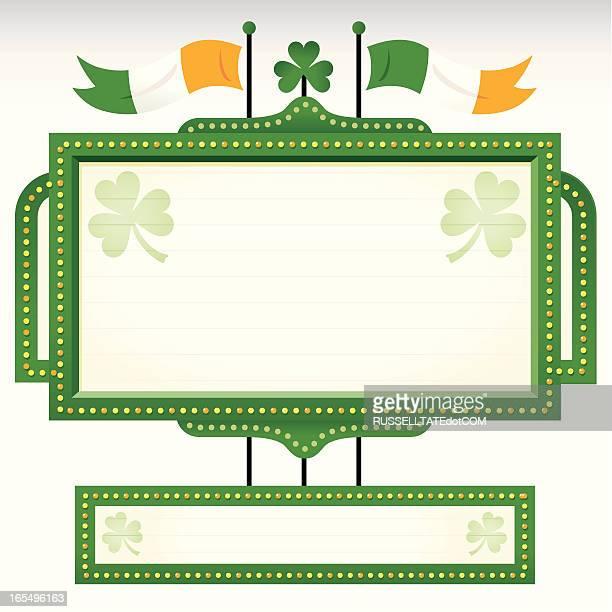 St Patrick's Irish Banner