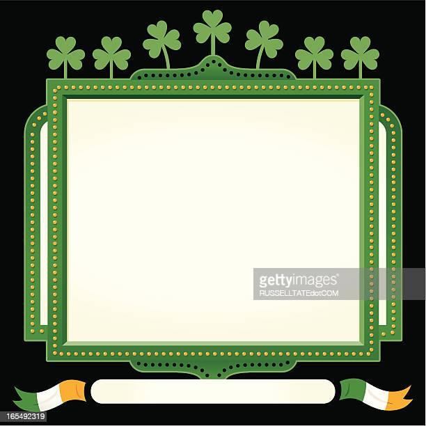 St Patrick's Irish sign