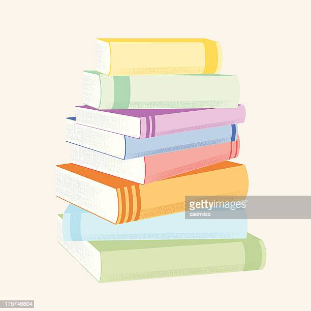 stack of books - closed stock illustrations, clip art, cartoons, & icons