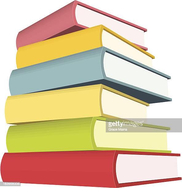 スタックの巨大なブック-ベクトル