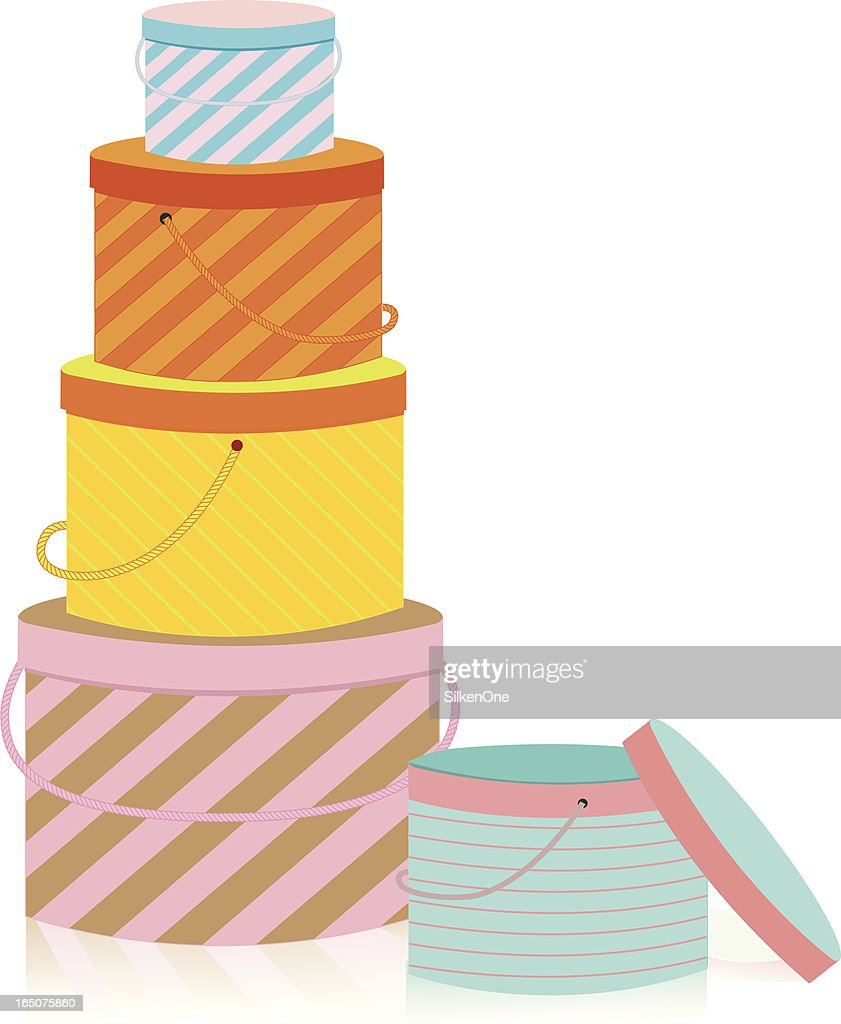 stacked boxes vector art getty images