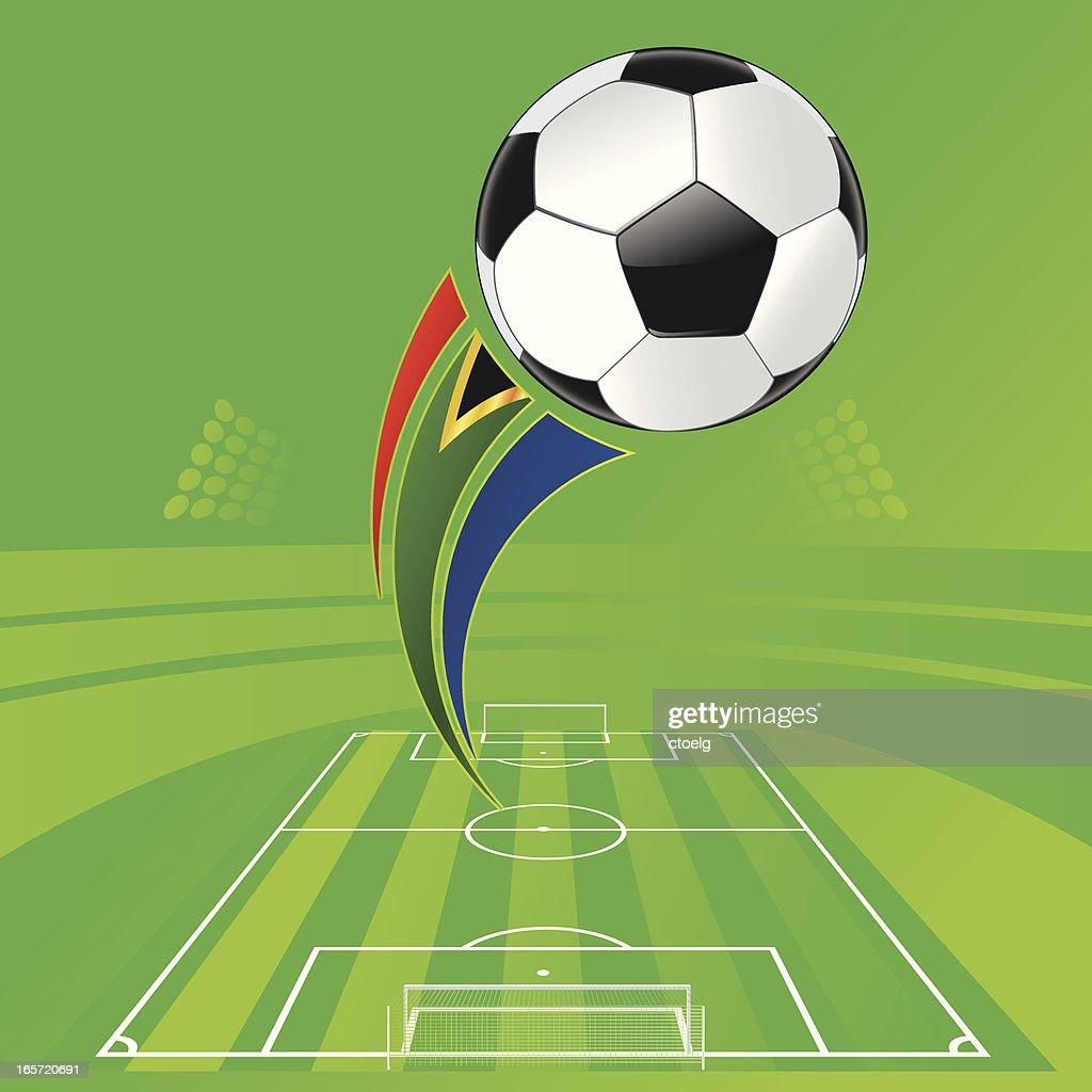 WM Stadium Soccer : stock illustration
