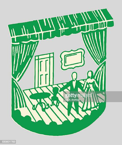 stage play - actor stock illustrations, clip art, cartoons, & icons