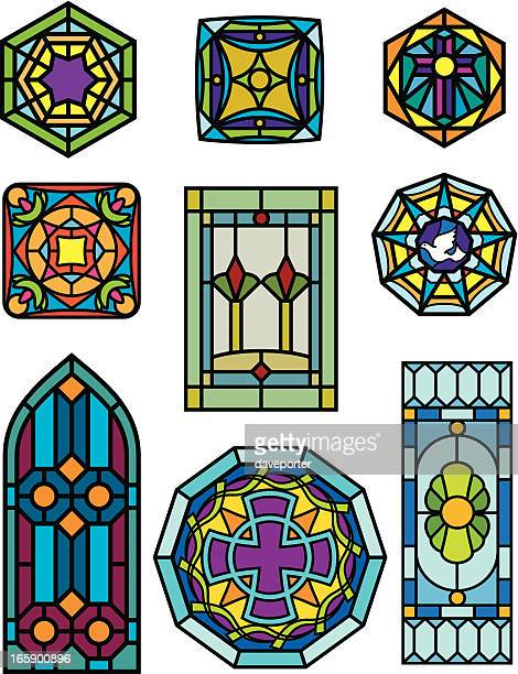 stain glass windows