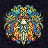 Stained-Glass-Lion