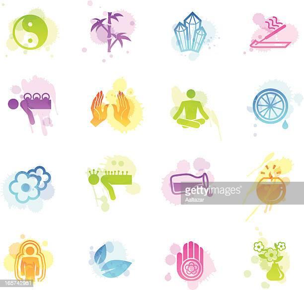Stains Icons - Alternative Medicine