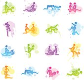 Stains Icons - Erotic Positions