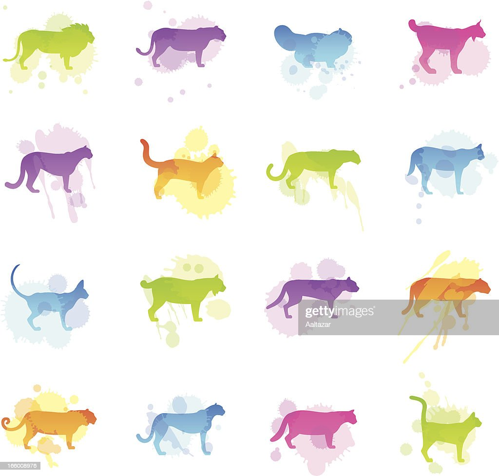 Stains Icons - Felines