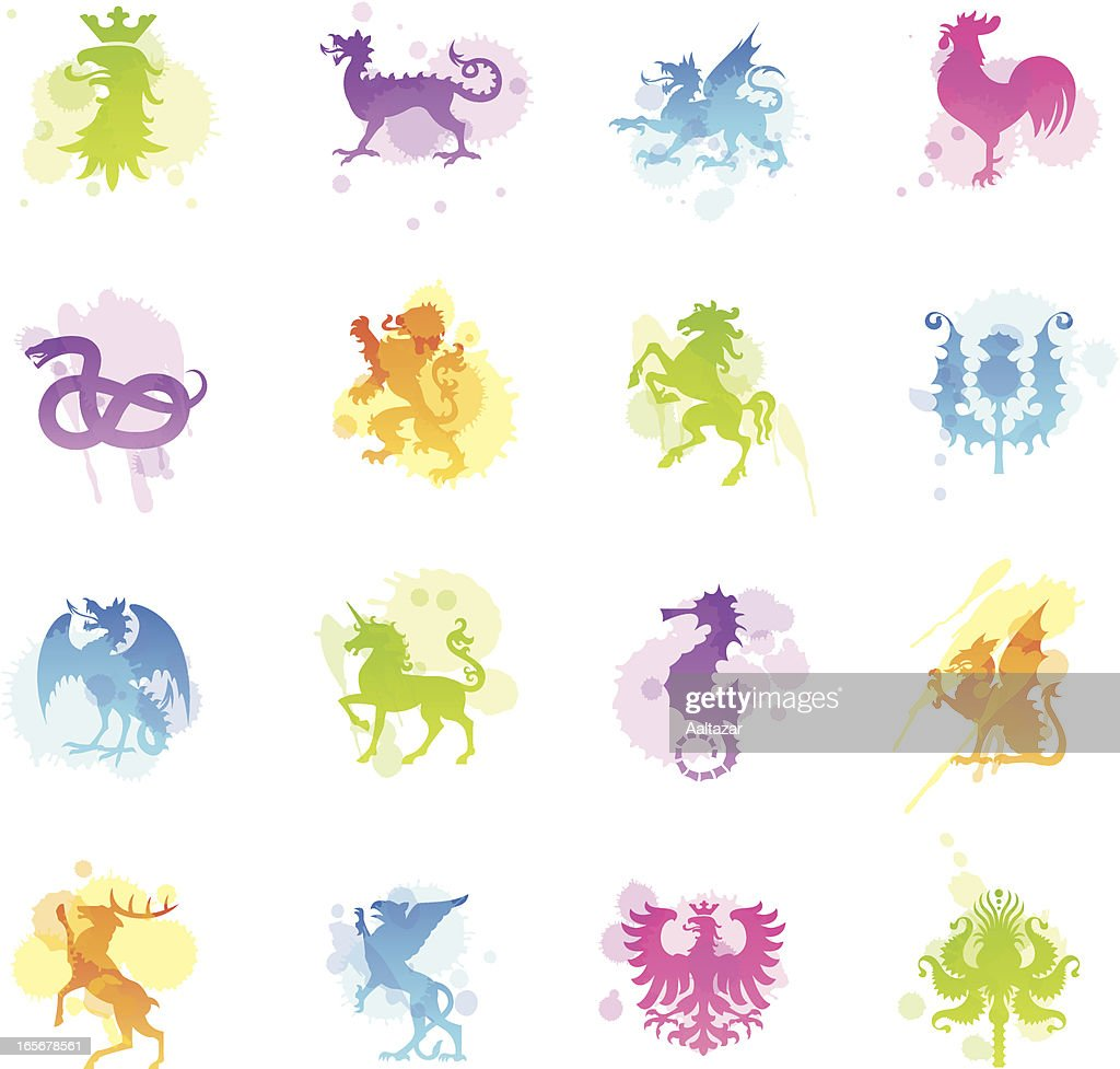 Stains Icons - Heraldic Animals