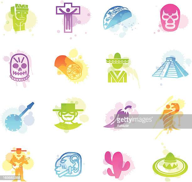Stains Icons - Mexico