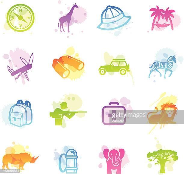 Stains Icons - Safari