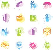 Stains Icons - Sex Industry