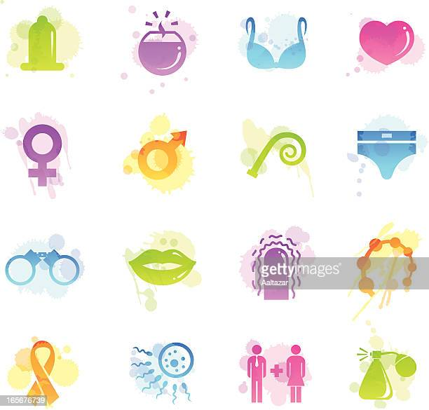 stains icons - sex - x rated stock illustrations, clip art, cartoons, & icons