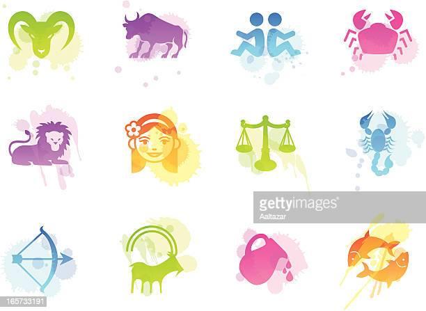 Taches icônes-Zodiac
