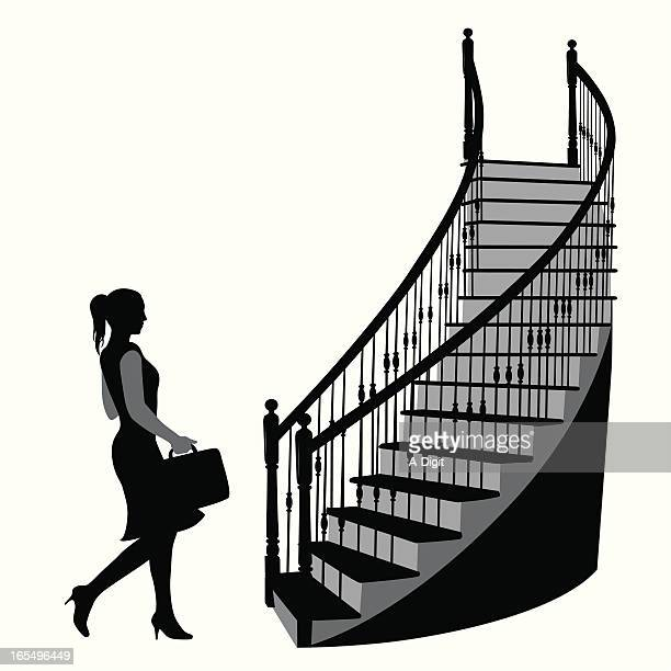 Steps And Staircases Stock Illustrations and Cartoons ...