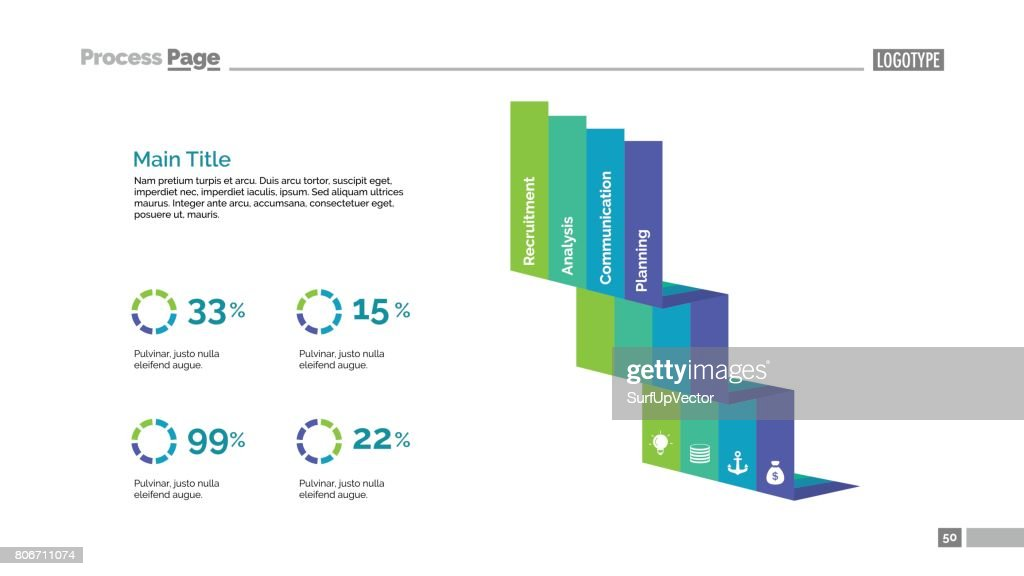 stairs elements comparison slide template vector art getty images