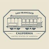 Stamp California, San Francisco
