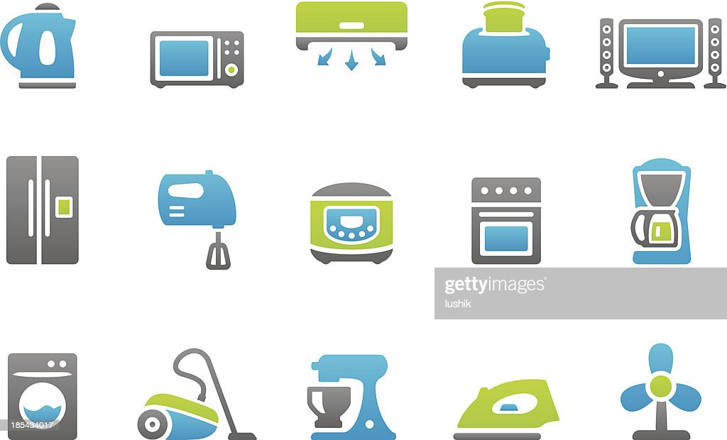 Stampico icons - Appliance : stock illustration
