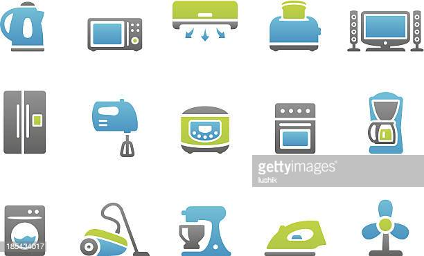 stampico icons - appliance - exhaust fan stock illustrations, clip art, cartoons, & icons