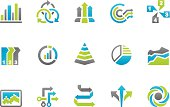 Stampico icons - Business infographic