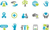 Stampico icons - Charity and Relief Work