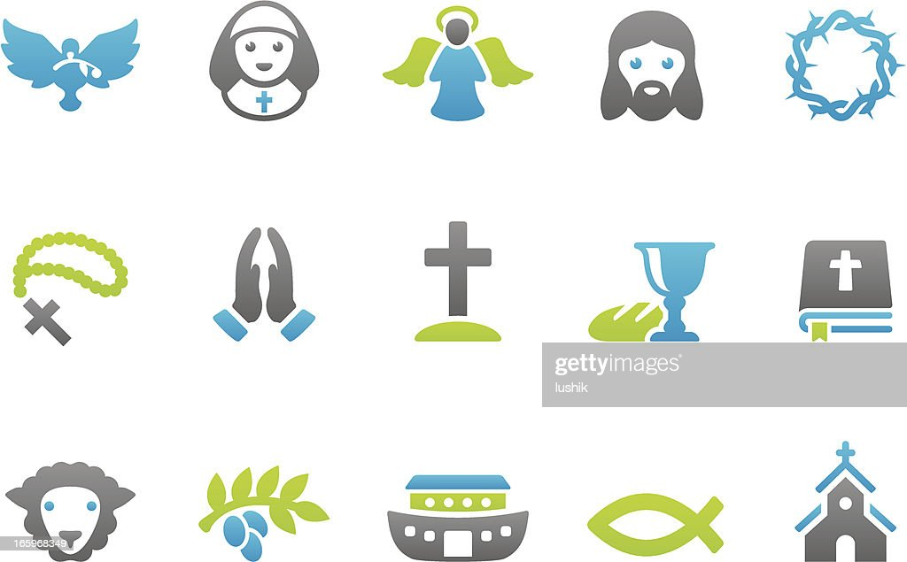 Stampico icons - Christianity