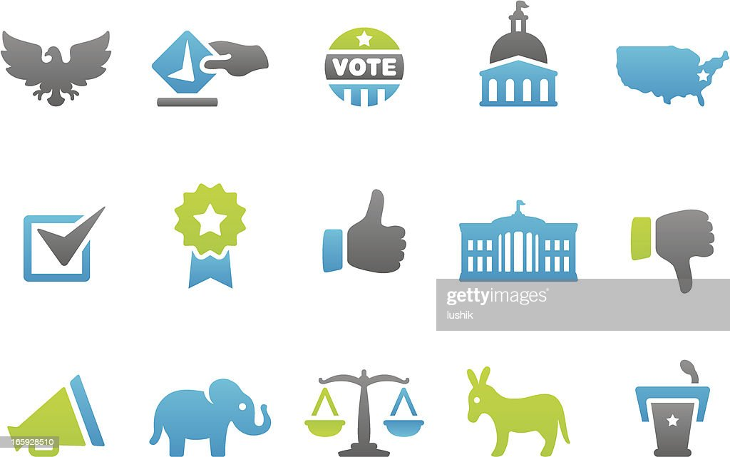 Stampico icons - Election