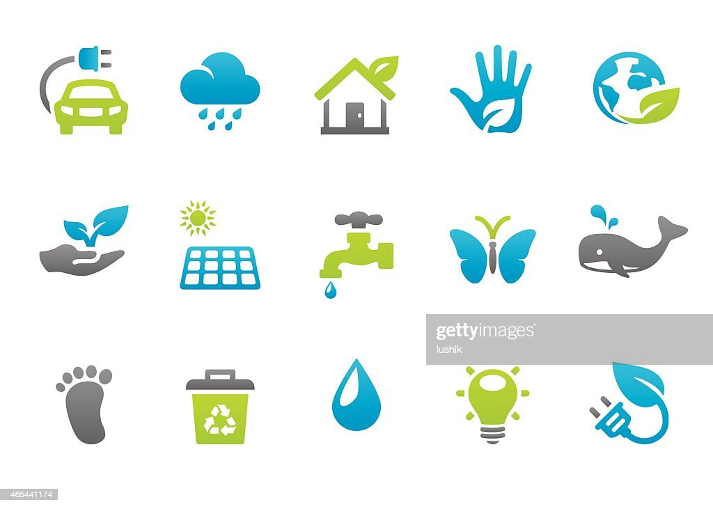 Stampico icons - Environmental Conservation