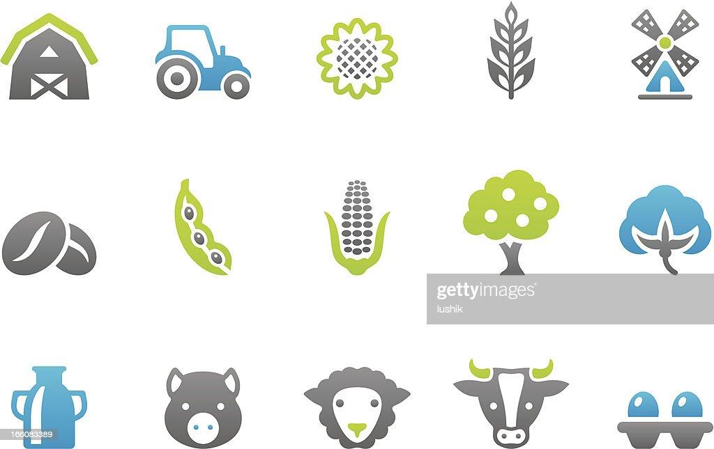 Stampico icons - Farm