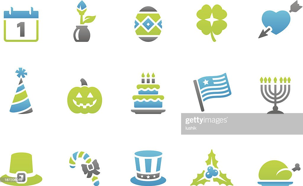 Stampico icons - Holidays and Celebrations