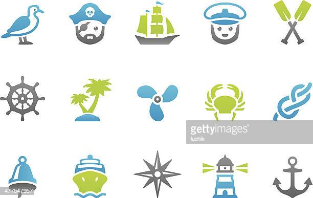 Stampico icons - Marine