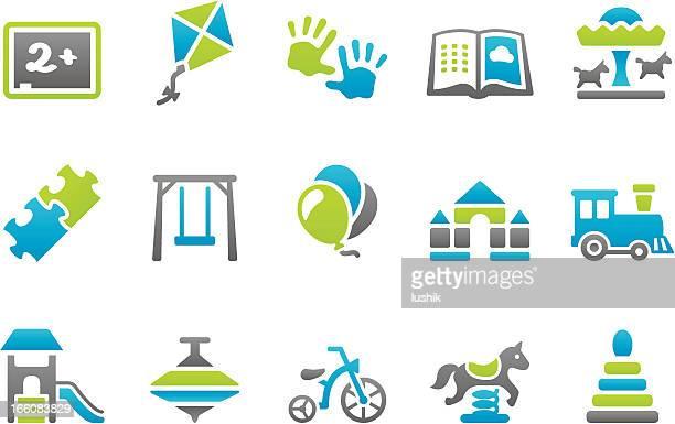 Stampico icone di Educazione di scuola materna