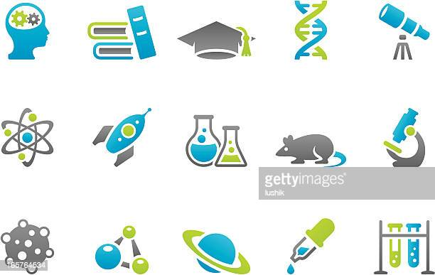 Stampico icons - Science