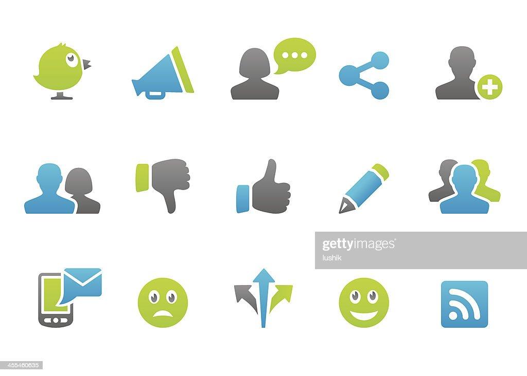 Stampico icons - Social Media