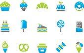 Stampico icons - Sweet Food