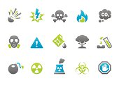 Stampico icons - Warning and Danger