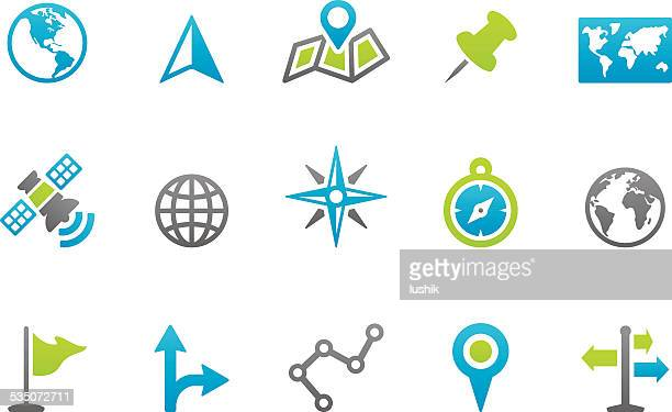 Stampico icons - World of Navigation