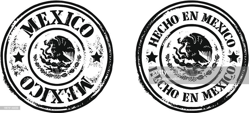 Stamps - Hecho En Mexico