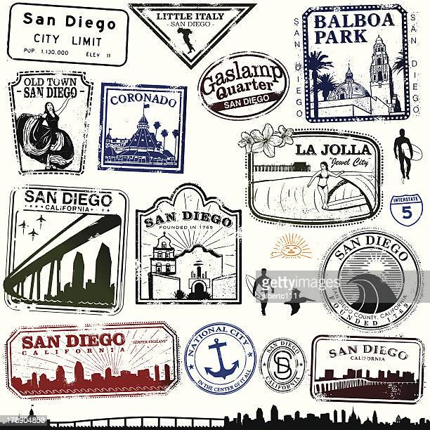 Stamps of San Diego