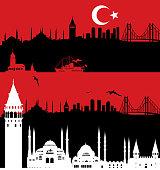 vector istanbul travel