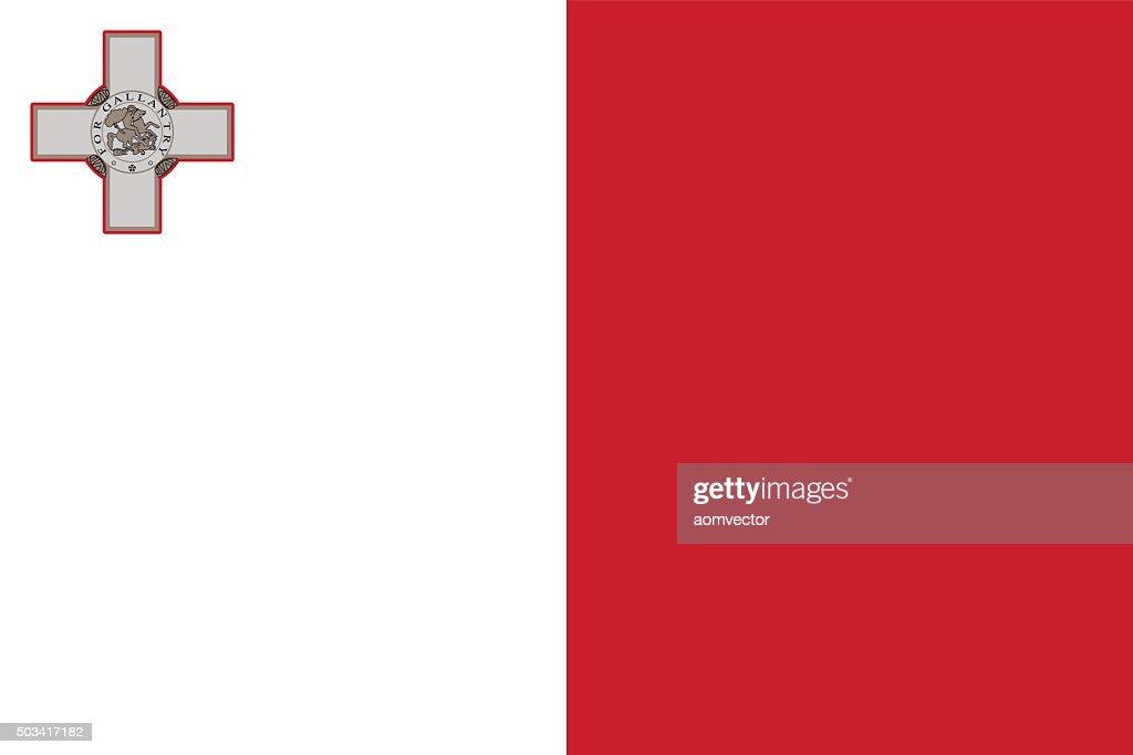 Standard Proportions for Malta Flag