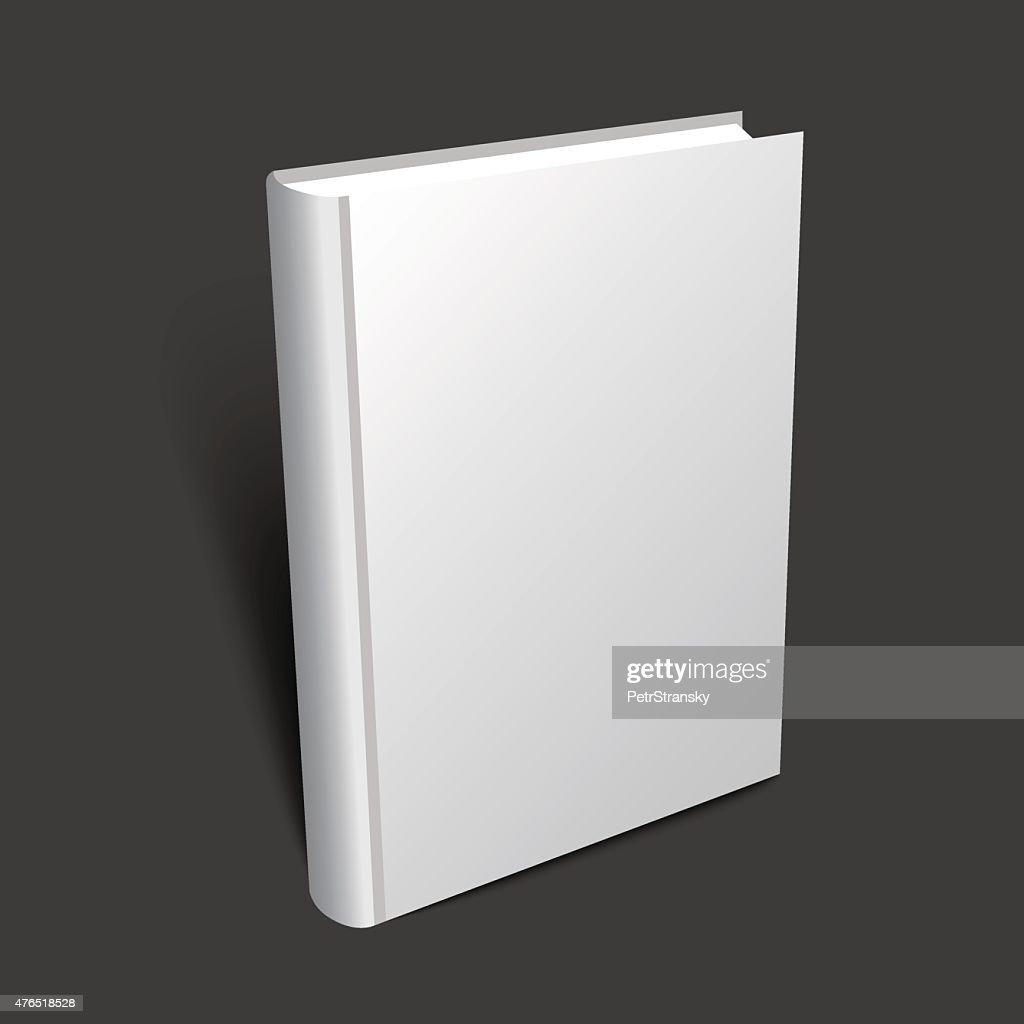 standing 3d book illustration