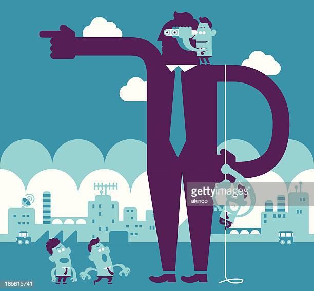ilustrações, clipart, desenhos animados e ícones de pé sobre os ombros dos gigantes - ombro