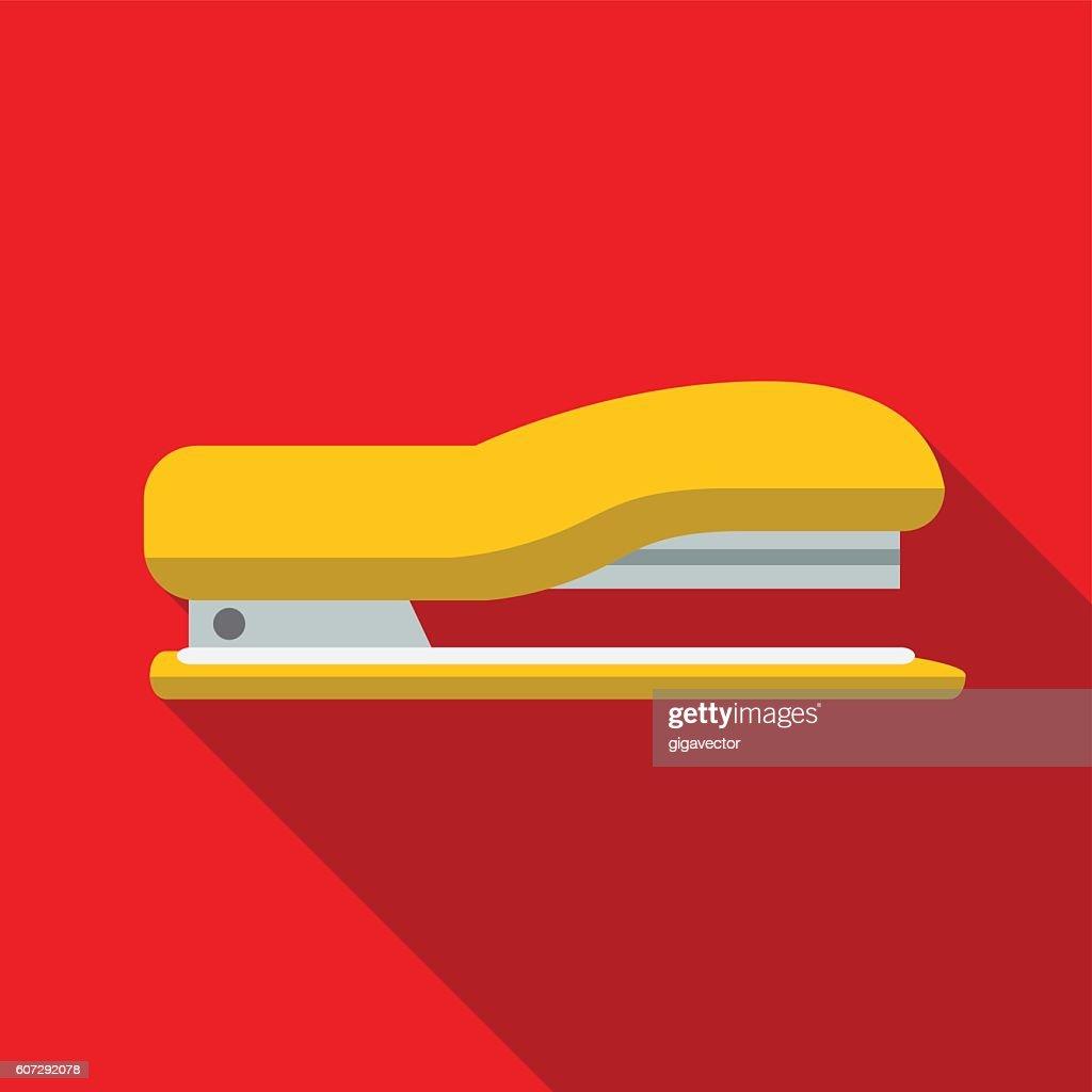 Stapler flat icon illustration