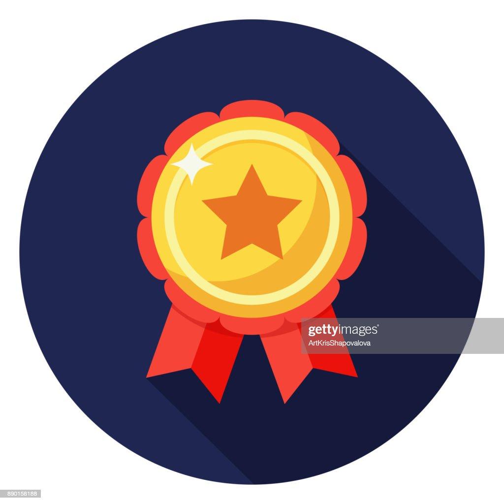 Star badge icon.