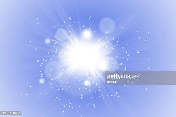 star burst glitters - shiny stock illustrations