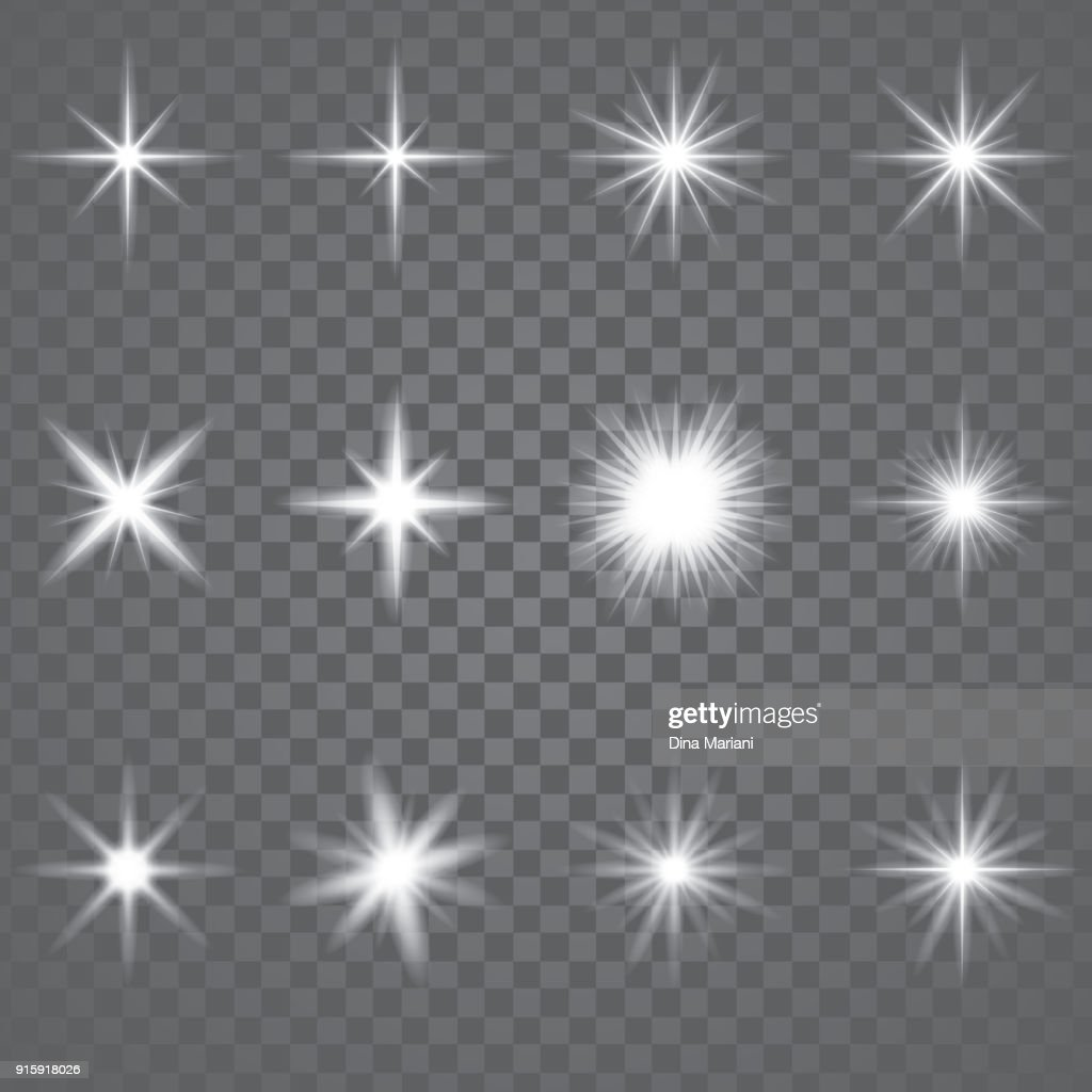 Star Burst Sparkling Light